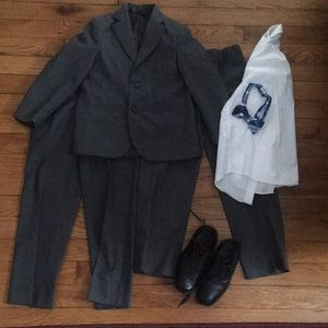 Boys complete suit package